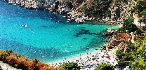 Playa El Portet de Teulada