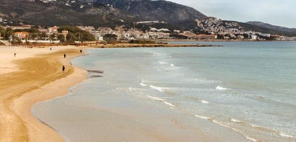 Playa La Romana de Alcoceber