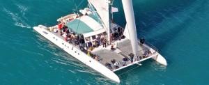 Paseo Catamaran Valencia romantica