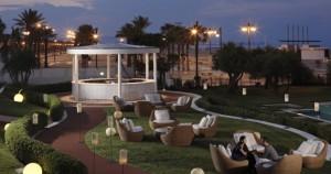 Terraza Hotel Las Arenas Valencia romantica