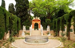Jardines Monforte Valencia romantica