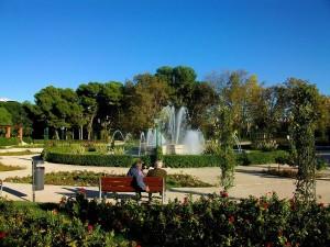 Jardines de Viveros Valencia romantica